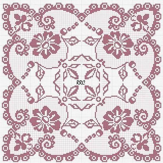 Kira scheme crochet: Scheme crochet no. 2093