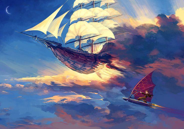 [OC] Treasure Planet Fan Art - My favorite box office bomb : movies