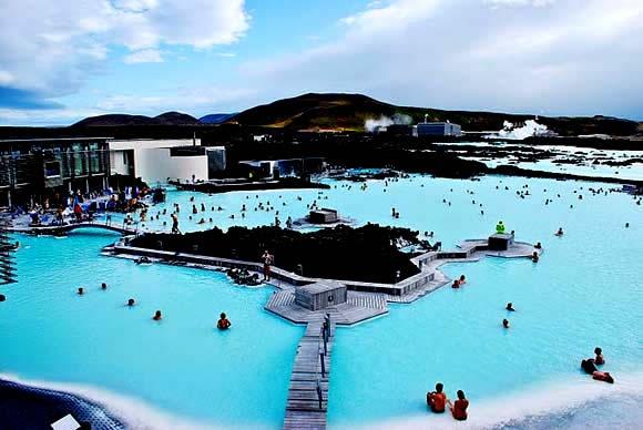 Lagoa Azul - Islândia