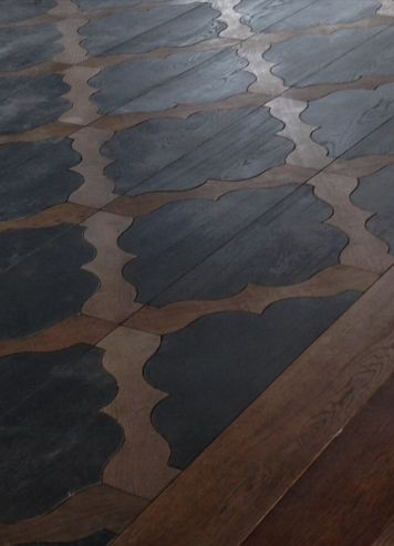 Moroccan design, wood flooring via {The Staging Scoop}: New House Inspiration