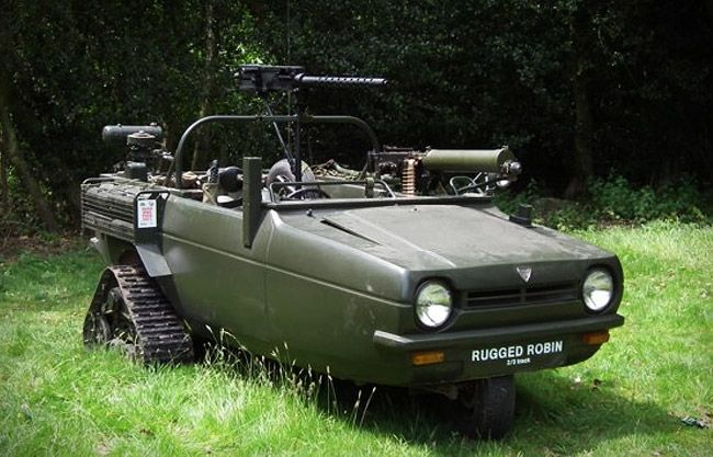 reliant rugged robin reliant robin transformed into a tank wheels pinterest robins the. Black Bedroom Furniture Sets. Home Design Ideas