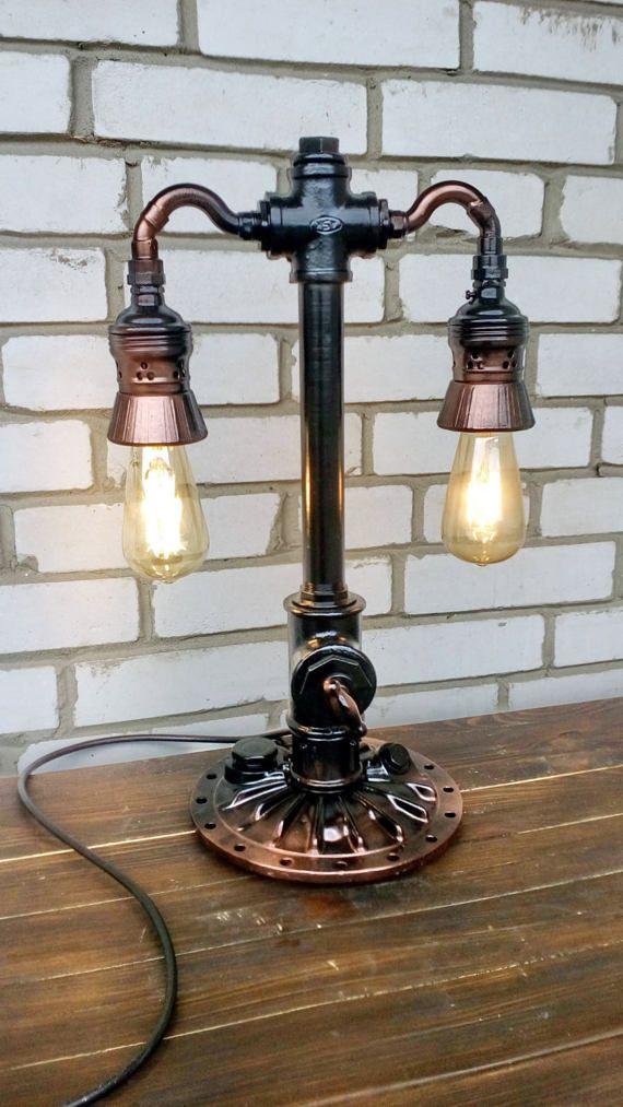 The 25+ best Steampunk lamp ideas on Pinterest | Pipe ...