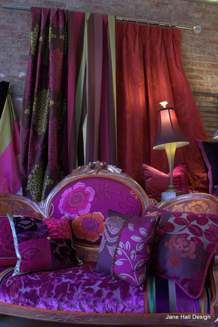 Buy upholstery and drapery fabric by Designers Guild  imported from England available at Jane Hall Design. View her entire collection at http://www.designersguild.com/
