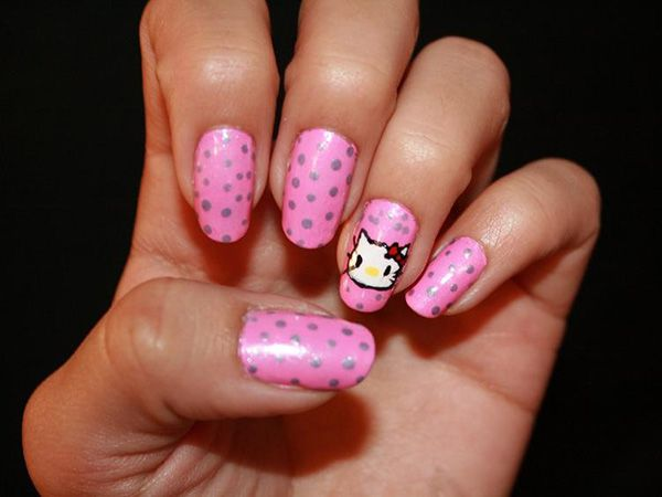 16 best overwhelming hello kitty nail designs images on pinterest here i would like to suggest the 25 cute hello kitty nail designs for your nail ideas we hope 25 cute hello kitty nail designs inspire you to be carried prinsesfo Image collections
