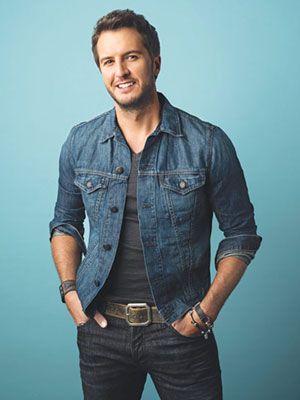 I think for once he kinda looks cute <3 Go Luke Bryan!!! Finally!