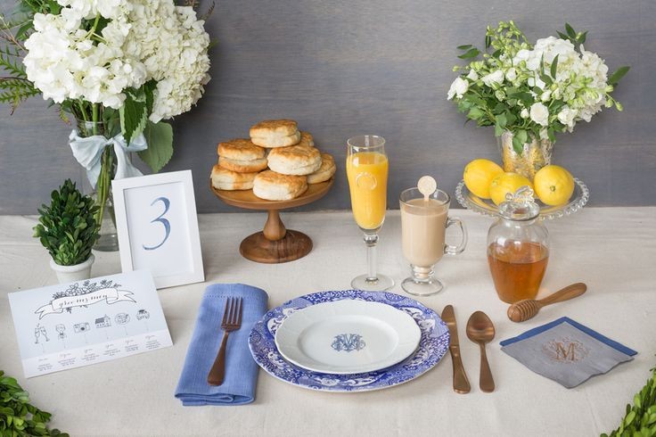 A Guide to Good Grooming: Trends & Ideas for Him - The Dining Groom: A Southern Rehearsal Brunch