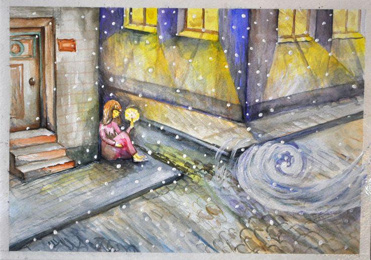 Dziewczynka z zapałkami Andersen