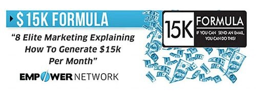 Empower Network 15k Formula Empower Network Networking Network
