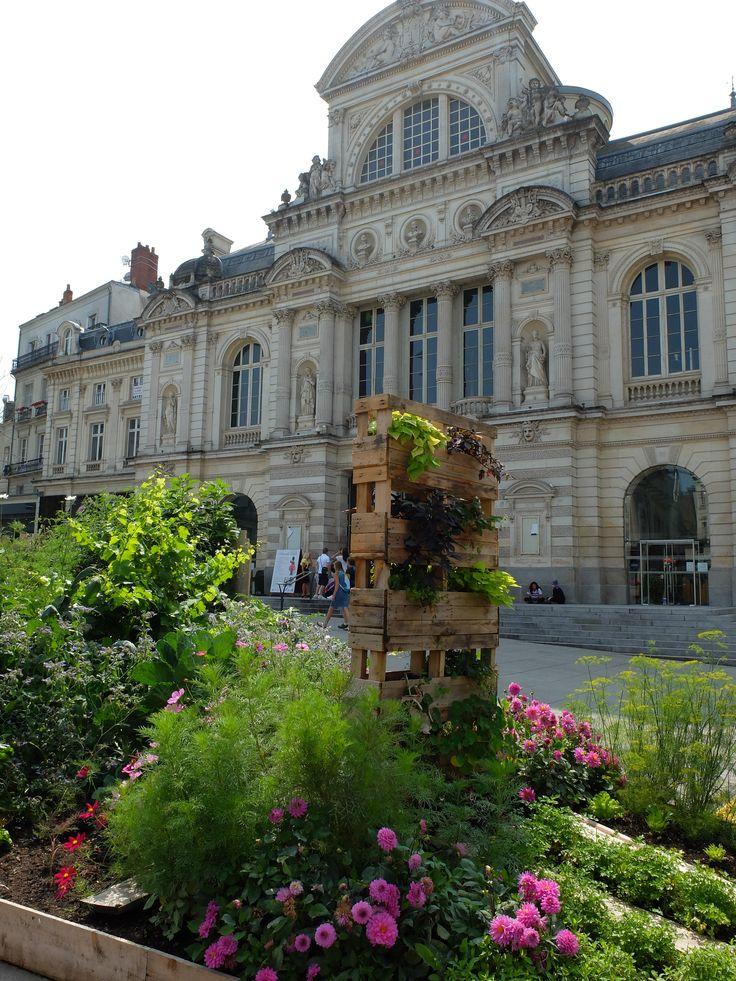 Le grand théâtre - Place du ralliement - Angers