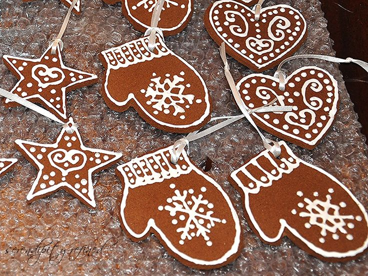 Cinnamon, Applesauce Ornaments | Serendipity Refined