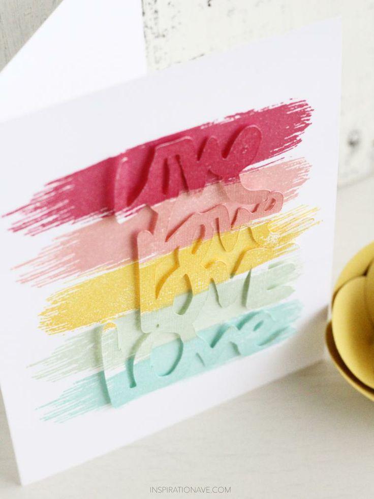 valentine card by Inspirationave.com