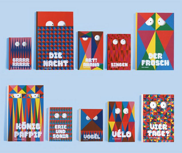 Children's books collection by FiZZZ BZZZZ for Flopp Kinderbuch Verlag. In collaboration with Elise de Terlikowski.