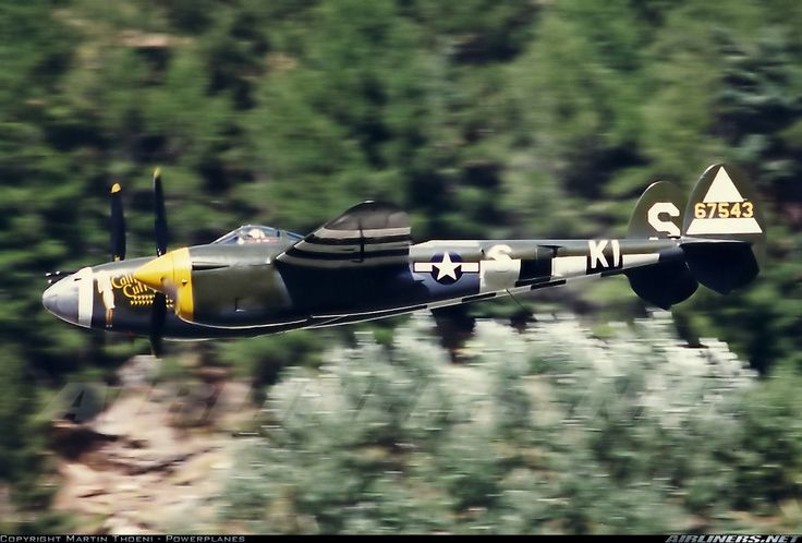 Lockheed P-38J Lightning aircraft picture