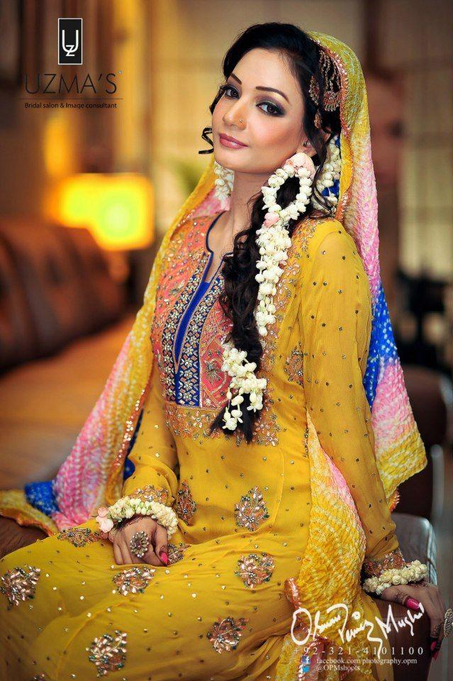 Mehndi Dulhan Makeup : Images about mehndi bridal makeup on pinterest