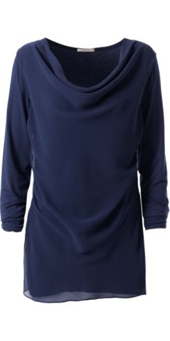 Long-Sleeve Cowl-Neck Top - Intimissimi