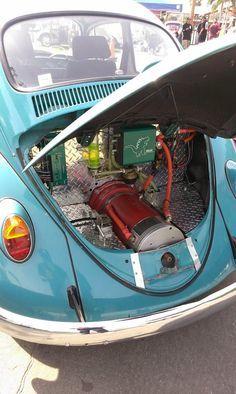 E.V.W -- Electric Volkswagen. v@e.