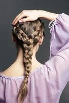 double into single braid