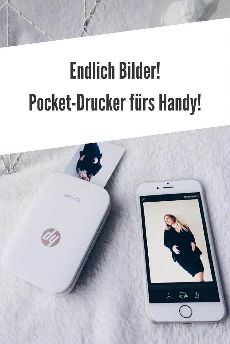 Schnell und easy Bilder vom Handy aus ausdrucken. Sprocket Drücker für die Hosentasche. Mini-Drucker Werbung