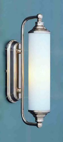 THE GALLATIN ART DECO BATH LIGHT PSL/G10