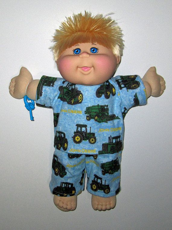 Cabbage Patch Kids  Doll Clothes John Deere by Dakocreations