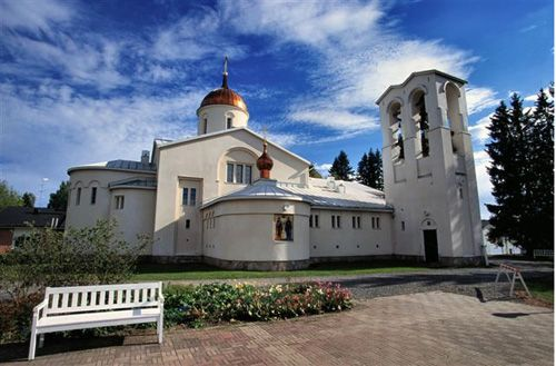 New Valamo or New Valaam (Finnish: Uusi Valamo) is an Orthodox monastery in Heinävesi, Finland. The monastery was established in 1940, when some 190 monks from Valaam Monastery in Karelia were evacuated from their old abode on a group of islands in Lake Laatokka (Ladoga) in Eastern Finland when it became part of Russia.