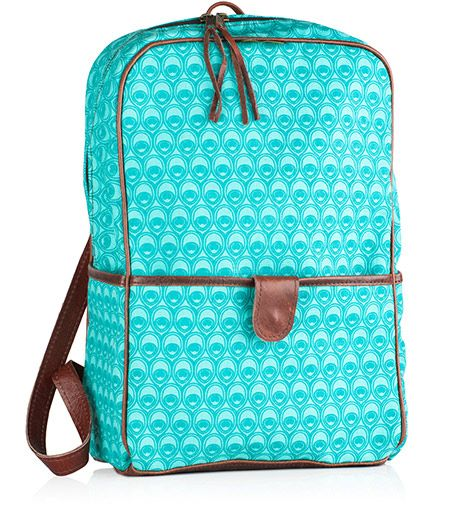 Backpack in Peacock Teal/turquoise