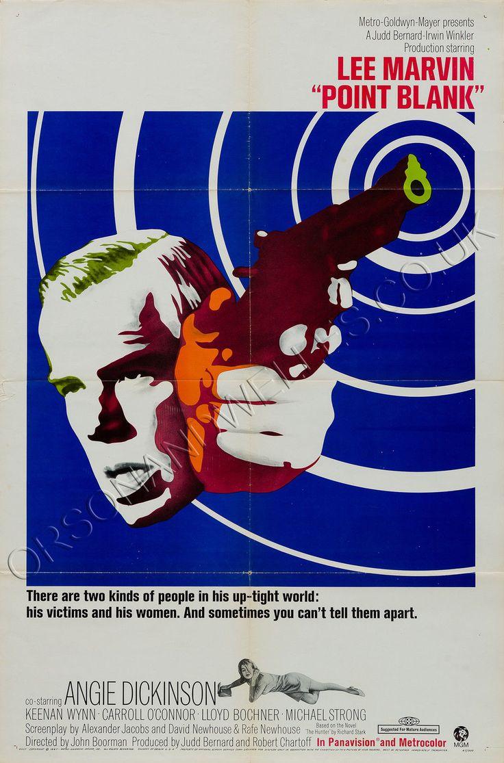 Original Point Blank 1967 US 1 Sheet, Film/Movie Poster | eBay