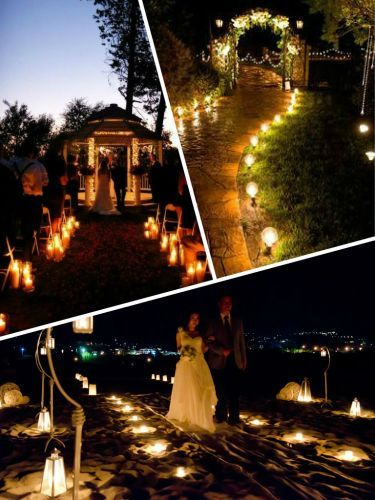 Image result for romantikus esküvők este
