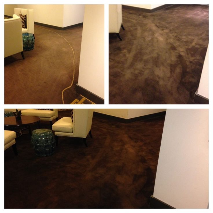 Bleach stain repair example carpetbleachstain