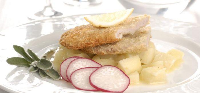 ... Schnitzel Mit Pommes op Pinterest - Schnitzel Braten, Wiener Schnitzel