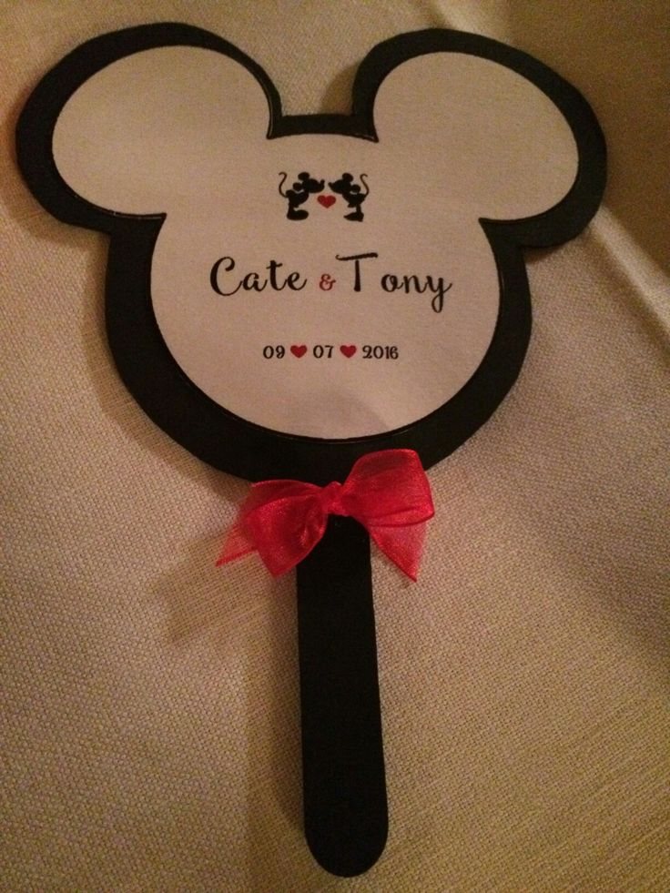 Ventaglio Disney homemade