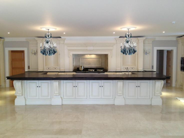 Clive Christian Architectural Kitchen In Ivory One Of The