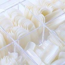500 unids gaga nuevo cubierta completa de uñas uñas postizas naturales clavo falso con la caja(China (Mainland))