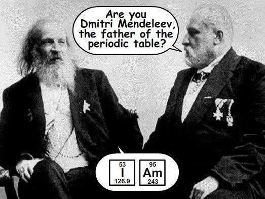 Dentist: Are you Dmitri Mendeleev, the father of the ...