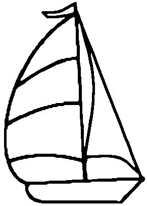 Stained Glass Sailboat Sailing Sail Patterns