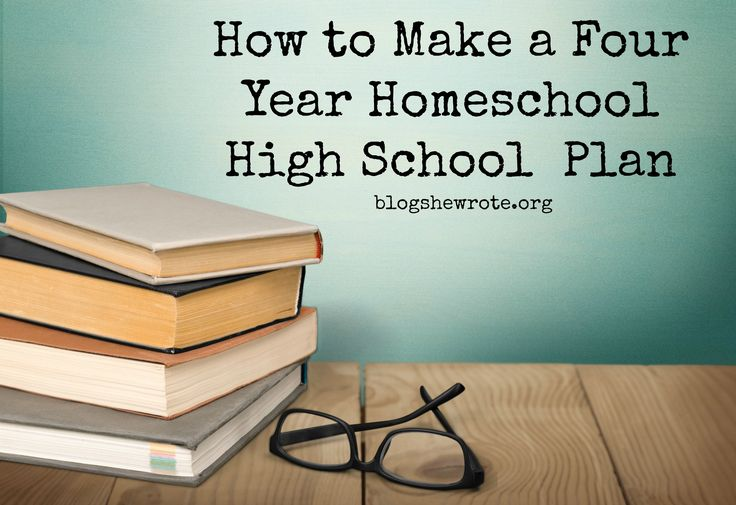 Homeschooling high school doesn't have to be difficult. The key is a plan made with your high schooler as you enter the high school years.
