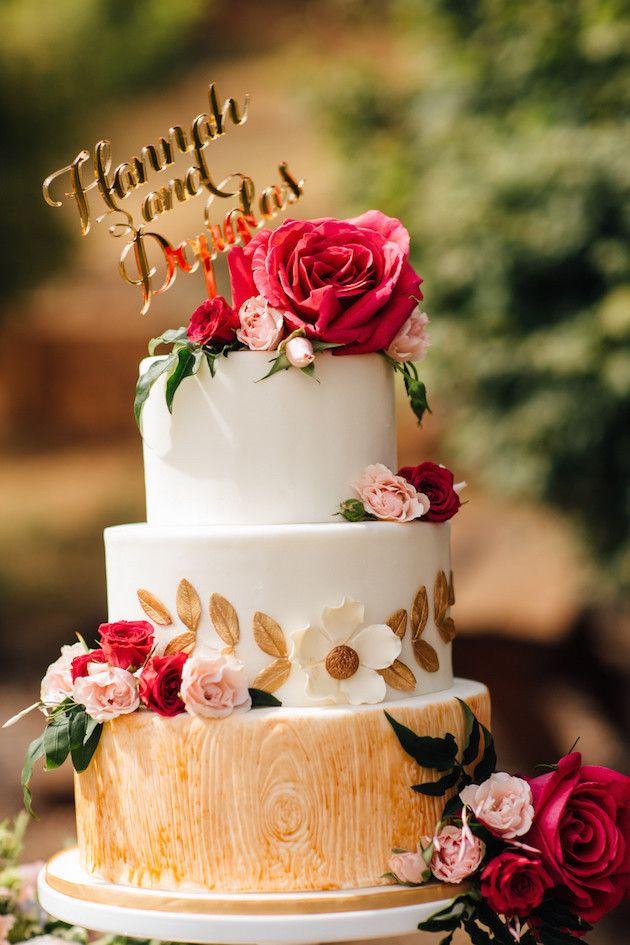 Unique Wedding Cakes | Best of 2015 | Bridal Musings Wedding Blog 3
