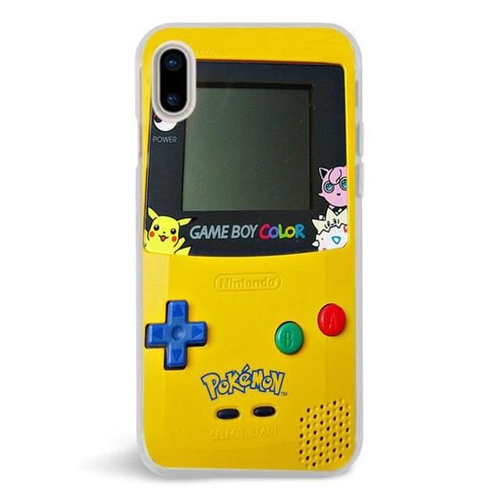 Pokemon Game Boy,iPhone X Case,Custom iPhone X Case,iPhone X