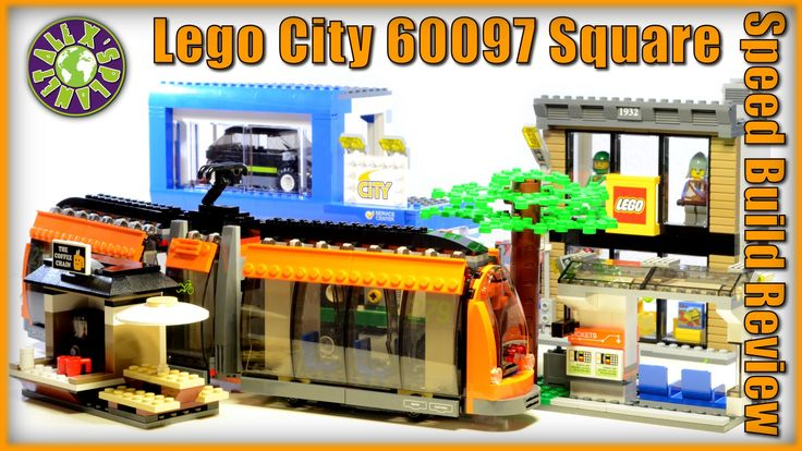 Lego City Square Stop Motion Review 60097