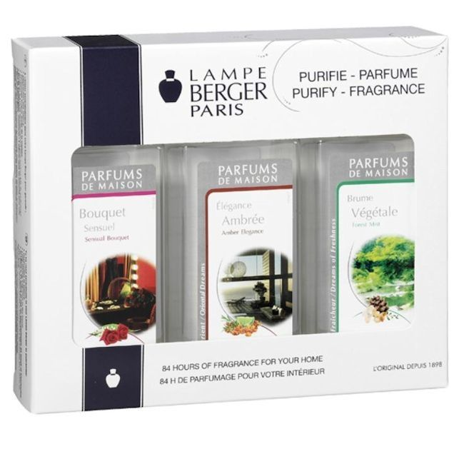 Best  NEW Trio Pack Limited Edition Fragrance by Lampe Berger New from Lampe Berger
