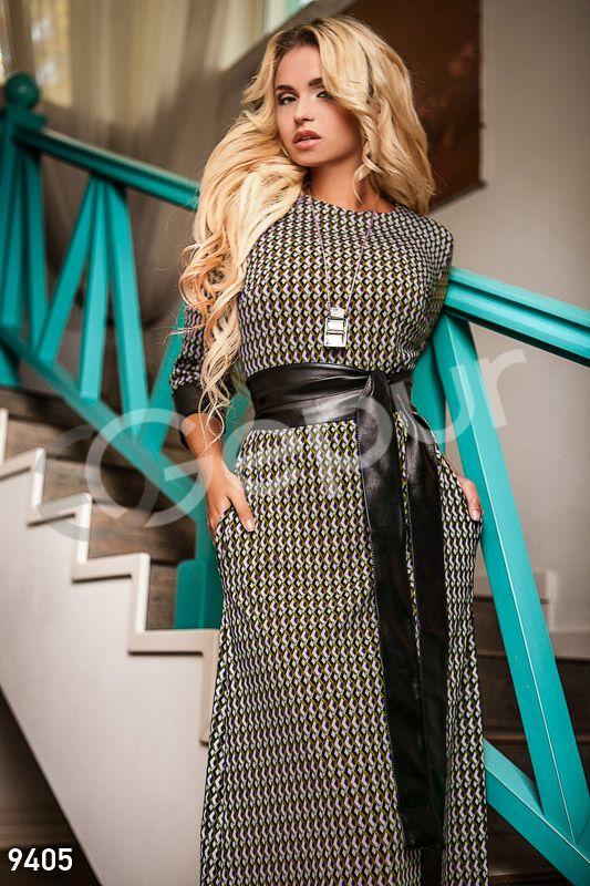 платье в пол, Gepur