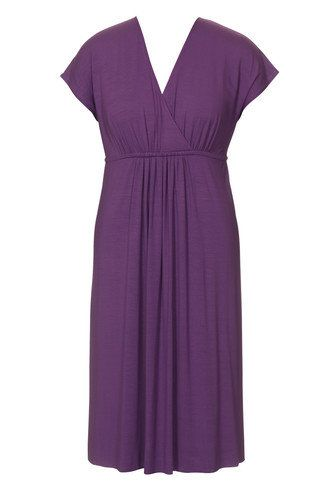 BurdaStyle V-Neck Dress 5/2010 #142