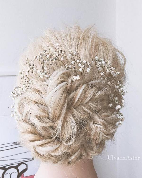 Ulyana Aster Romantic Long Bridal Wedding Hairstyles_23 ❤ See more: http://www.deerpearlflowers.com/romantic-bridal-wedding-hairstyles/   Deer Pearl Flowers