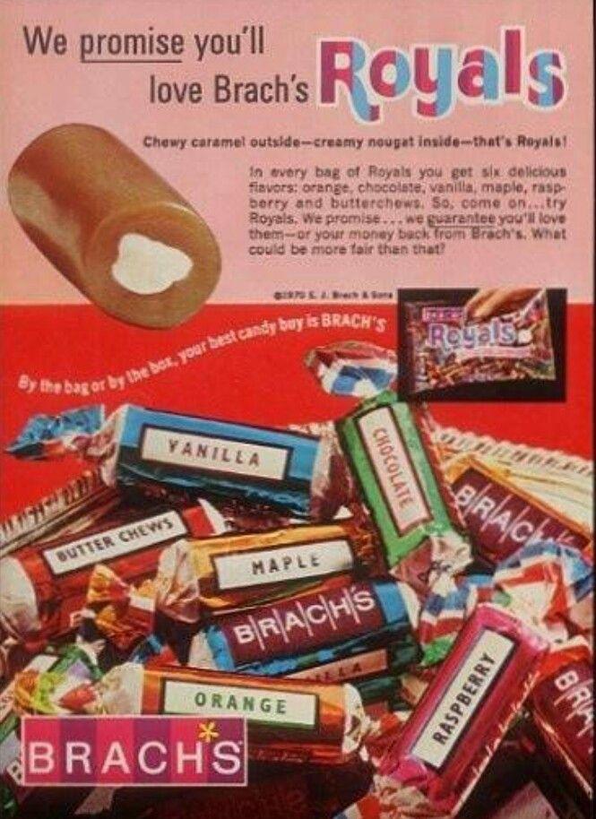 Retro candy.