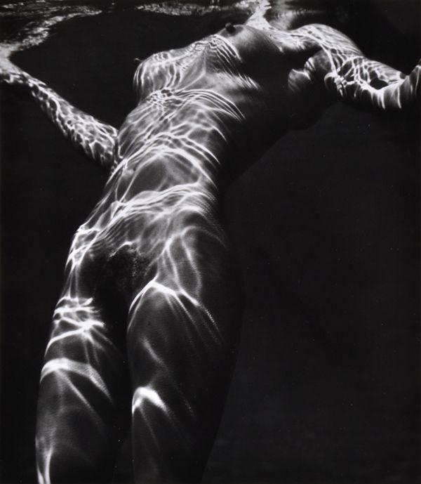 Brett Weston (American, 1911-1993) Nude Under Water