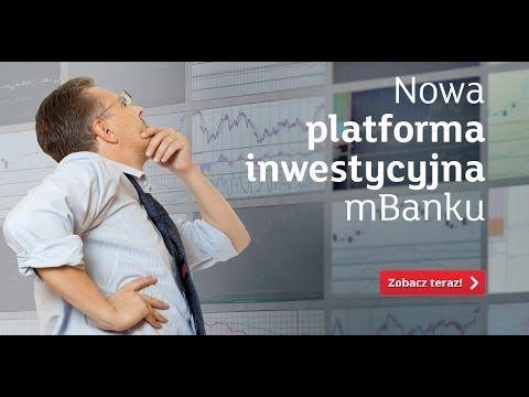 Nowa platforma inwestycyjna mBanku