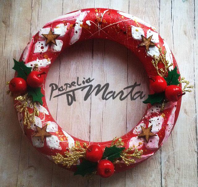Mediowe ozdoby świąteczne - kurs krok po kroku.