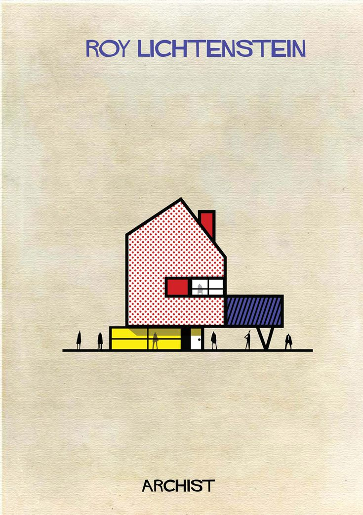 Famous Modern Artists' Work Transformed Into Stunning Architecture