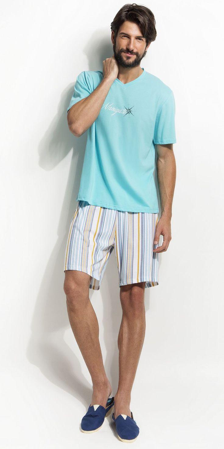 Men's Pyjamas 100% Cotton   Pyjamas  Vamp! Men's Pyjama 100% Cotton 4751