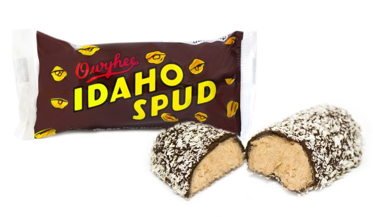 The Idaho Spud Bar has been a favorite since it was first manufactured in 1918. Description from candycrate.com. I searched for this on bing.com/images